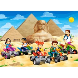 Priezkum pyramíd - DETSKÉ PUZZLE