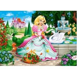 Princezná s labuťou - DETSKÉ PUZZLE