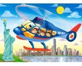 Vrtulník v New Yorku - DETSKÉ PUZZLE