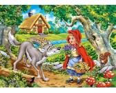 Červená Čiapočka s vlkom - DETSKÉ PUZZLE