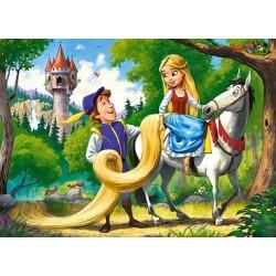 Zlatovláska s princom - DETSKÉ PUZZLE