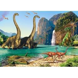 Svet dinosaurov - DETSKÉ PUZZLE