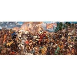 Bitka u Grundwaldu - PANORAMATICKÉ PUZZLE