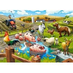 Život na farme - DETSKÉ PUZZLE