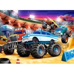 Monster Truck show - DETSKÉ PUZZLE