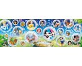 Svet Disney - PANORAMATICKÉ PUZZLE