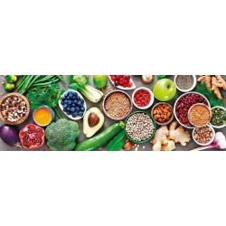 Zdravá strava - PANORAMATICKÉ PUZZLE