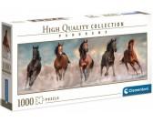 Päť koní - PANORAMATICKÉ PUZZLE