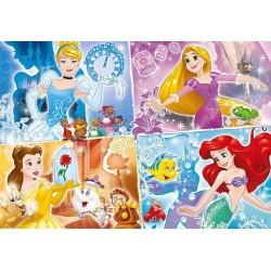 Štyri princezné - DETSKÉ PUZZLE