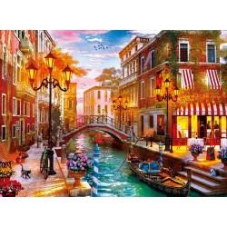 Západ slnka v Benátkách