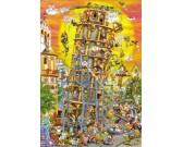 Stavba Šikmej veže v Pise