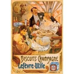 Plagát - Biscuitis Champagne
