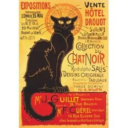 Plagát - Čierná mačka