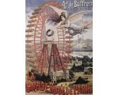 Plagát - Veľké koleso v Paríži