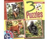 Koala, tiger, gorila - DETSKÉ PUZZLE