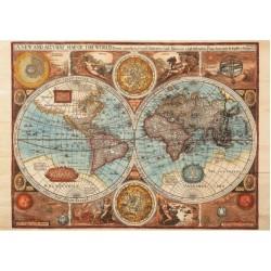 Mapa sveta z roku 1626