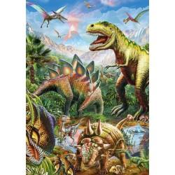 Svet dinosaurov - SVIETIACE PUZZLE