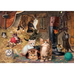 Puzzle Mačací svet