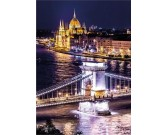 Budapešť - SVIETIACE PUZZLE