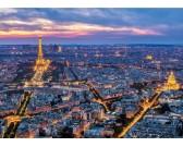 Paríž v noci - SVIETIACE PUZZLE