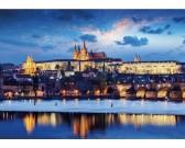 Pražský hrad - SVIETIACE PUZZLE