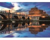 Anjelský hrad, Rím - SVIETIACE PUZZLE