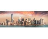 Manhattan za súmraku - PANORAMATICKÉ PUZZLE