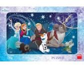 Ľadové kráľovstvo - snehové vločky - DETSKÉ PUZZLE