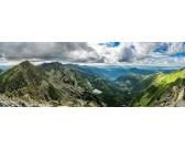 Vysoko v horách - PANORAMATICKÉ PUZZLE