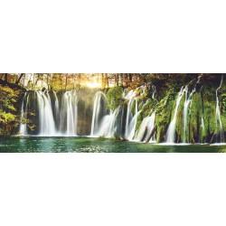 Plitvické jazerá - PANORAMATICKÉ PUZZLE