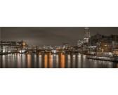 Londýn v noci - PANORAMATICKÉ PUZZLE