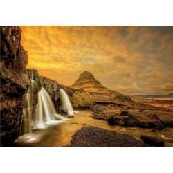 Vodopád Kirkjufellsfoss, Island