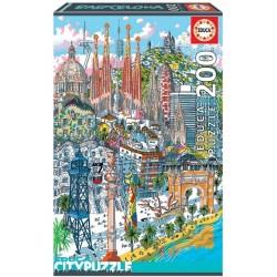 Barcelona - MINI PUZZLE