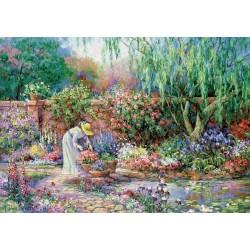 Krásná záhrada - XXL PUZZLE