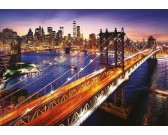 Manhattan pri západe slnka