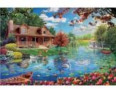 Chata u jazera