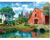 Červená stodola