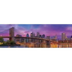 Brooklynský most, New York - PANORAMATICKÉ PUZZLE