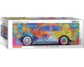 Volkswagen Beetle - PANORAMATICKÉ PUZZLE