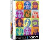 John Lennon - barevné portréty