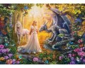 Princezná v kúzelnej záhrade - XXL PUZZLE