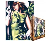 Dievča v zelenom