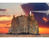 Maják na ostrove Stromboli