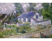 Dom s modrou strechou