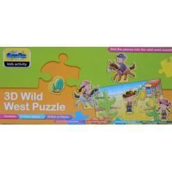 Wester - 3D PUZZLE