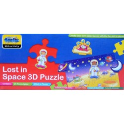 Stratení vo vesmíre - 3D PUZZLE