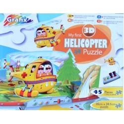 Môj prvý vrtuľník - 3D PUZZLE