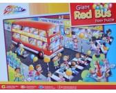 Červený autobus - DETSKÉ PUZZLE