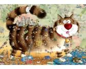 Mačací život - TRIANGULAR PUZZLE