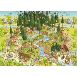Zábavné ZOO - Čierný les